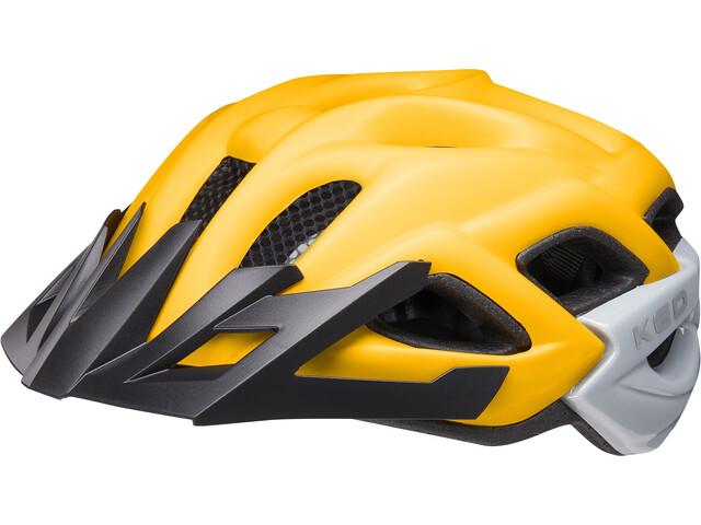 KED Status Helmet Kids yellow black matt
